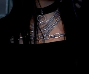alternative, chains, and choker image