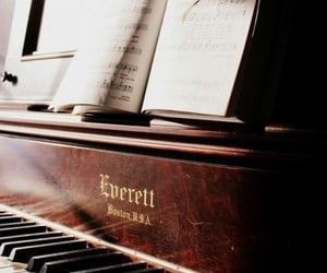 classical, music, and piano image