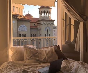 aesthetic, bedroom, and view image