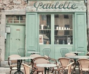 cafe, france, and mint image