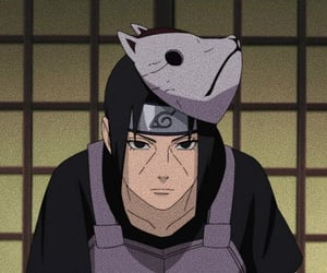 itachi, naruto, and uchiha image