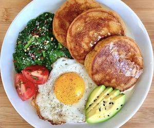 avocado, breakfast, and eating image