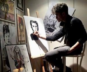 aesthetic, art, and art studio image