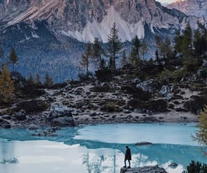 forest, hipster, and mountains image
