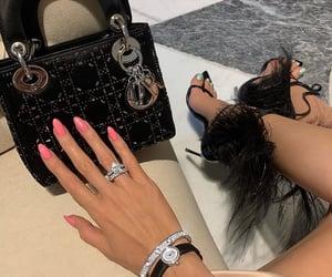 fashion, diamonds, and dior image