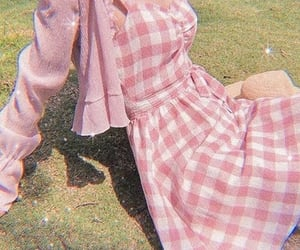 pink, dress, and aesthetic image