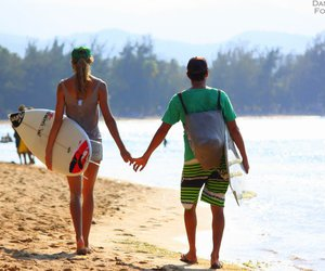 boys, surf, and surfing image