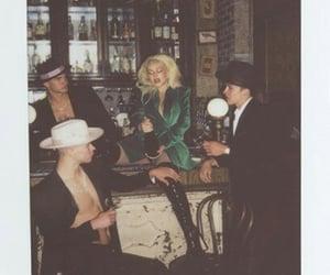 boys, christina aguilera, and polaroid image