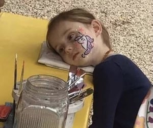 mood, face paint, and meme image