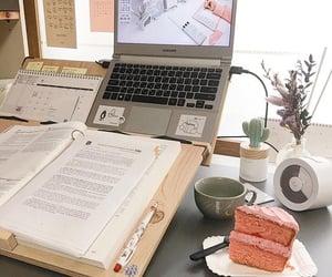 aesthetics, cake, and study image