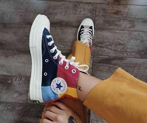 chuck taylor, fashion, and outfit image