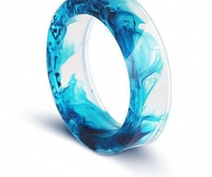 blue, crystal, and paint image