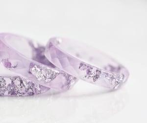 crystal, gem, and purple image