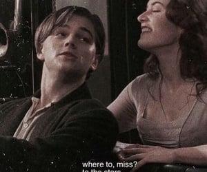 titanic, rose, and love image