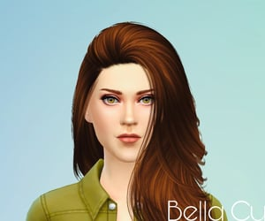 bella cullen, sims 4, and creation image