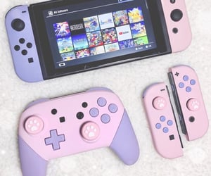 aesthetic, console, and controller image