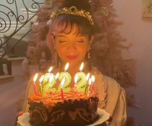 birthday, melanie martinez, and birthday cake image