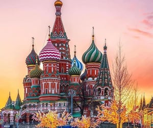 moscow, travel, and russia image