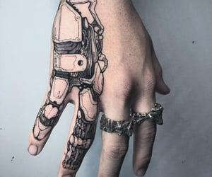 hand, tattoo, and Tattoos image