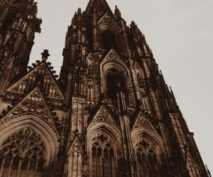 architecture, building, and gothic image