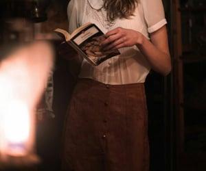book, dark academia, and aesthetic image