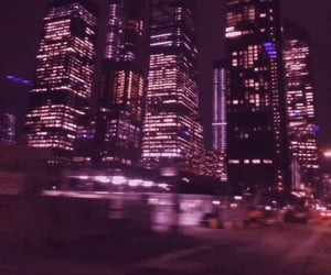 aesthetic, new york city, and blurry image