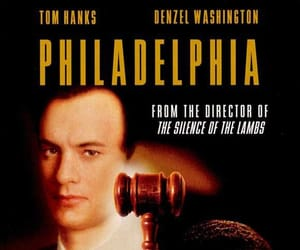 Philadelphia and tom hanks image
