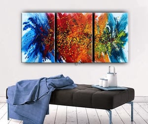 Abstract Painting, contemporary art, and original painting image