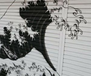 waves, art, and grunge image