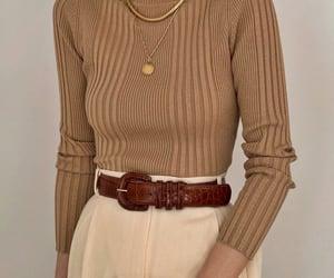 brown and fashion image