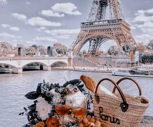 theme, paris, and background image