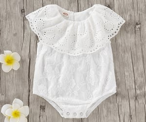 baby clothes, free shipping, and chic romper image