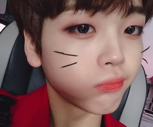 x1, hyeongjun, and kpop image