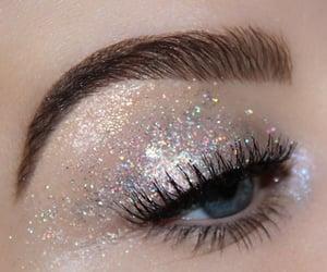 glitter, beauty, and eye image