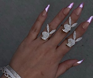 jewelry, nails, and Playboy image