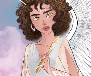 angel, art, and artist image