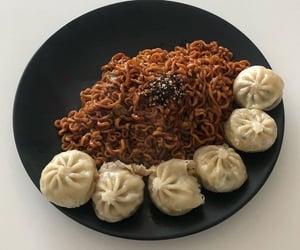 dumplings, food, and instantnoodles image
