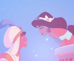 aladdin, disney princess, and a whole new world image