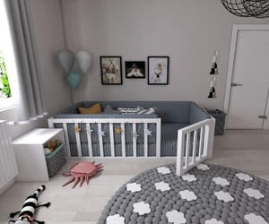architecture, baby room, and bedroom image