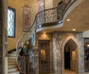 architecture, extravagant, and foyer image