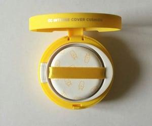 yellow, korean, and makeup image