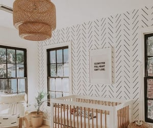 baby, boho, and baby room image