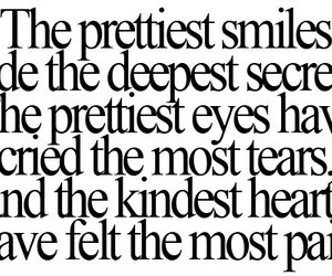 quotes, smile, and pain image