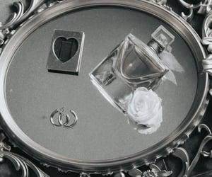 jewelry, rose, and perfum image