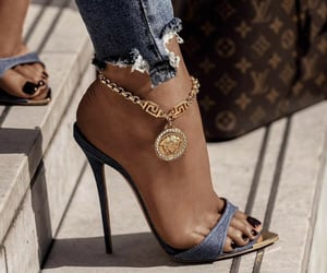 luxury, shoes, and Versace image