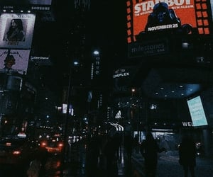 city, night, and starboy image