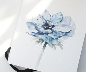 journaling, watercolor flowers, and floral sketch image