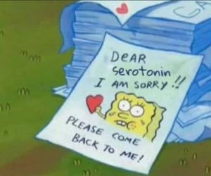 meme, gary, and spongebob image