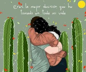 amor, couple, and frase image