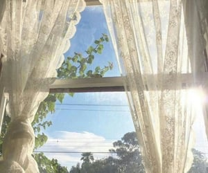 aesthetic, sky, and window image